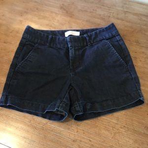 BANANA REPUBLIC Stretch Women's Denim Shorts Sz 0